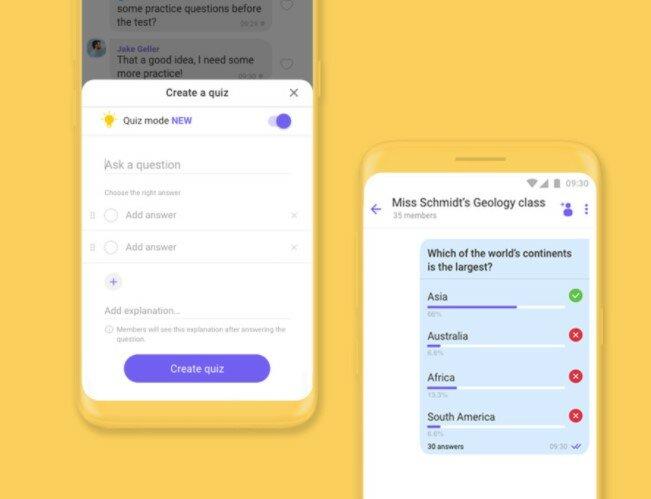 Viber внедряет полезную функцию для дистанционного обучения