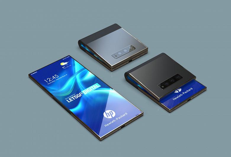 В Сеть утекли изображения нового смартфона Hewlett-Packard с гибким экраном