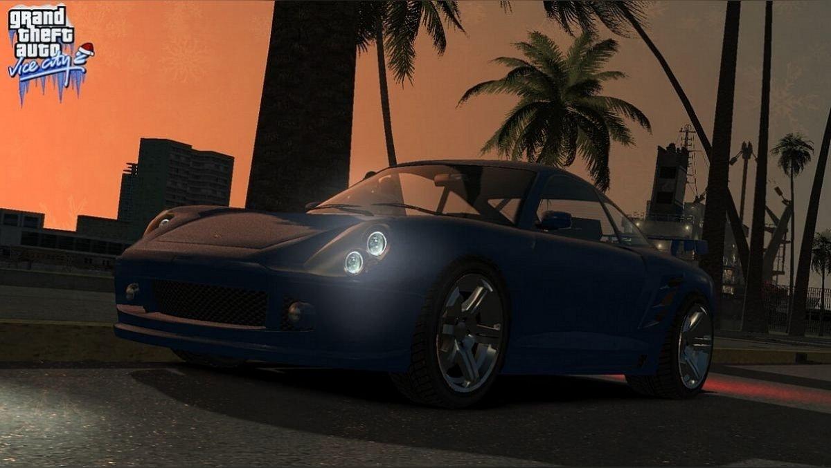 Скриншоты Vice City на движке GTA 5