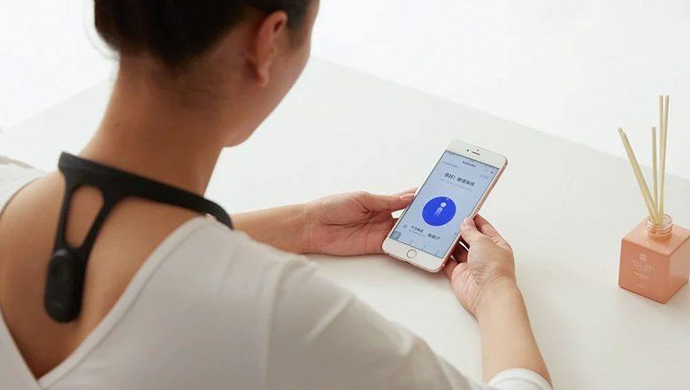 Xiaomi презентовала революционный корректор осанки