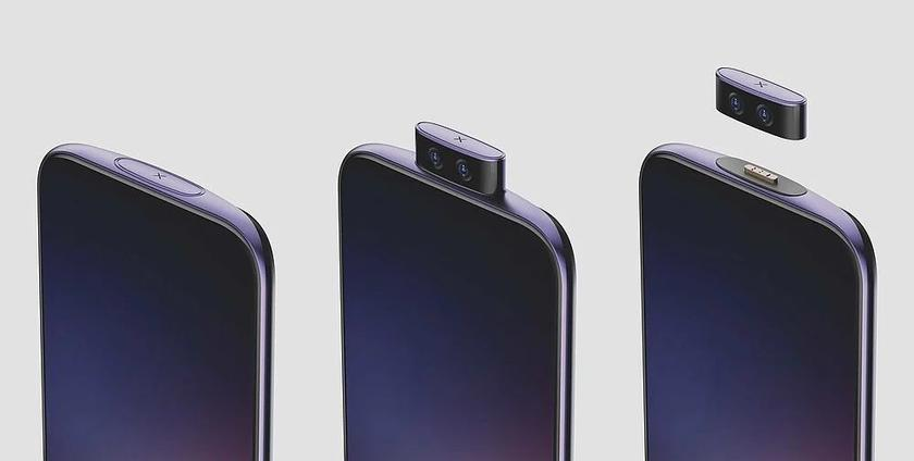 Китайская компания Vivo показала смартфон с откликающейся на голосовые команды съемной камерой