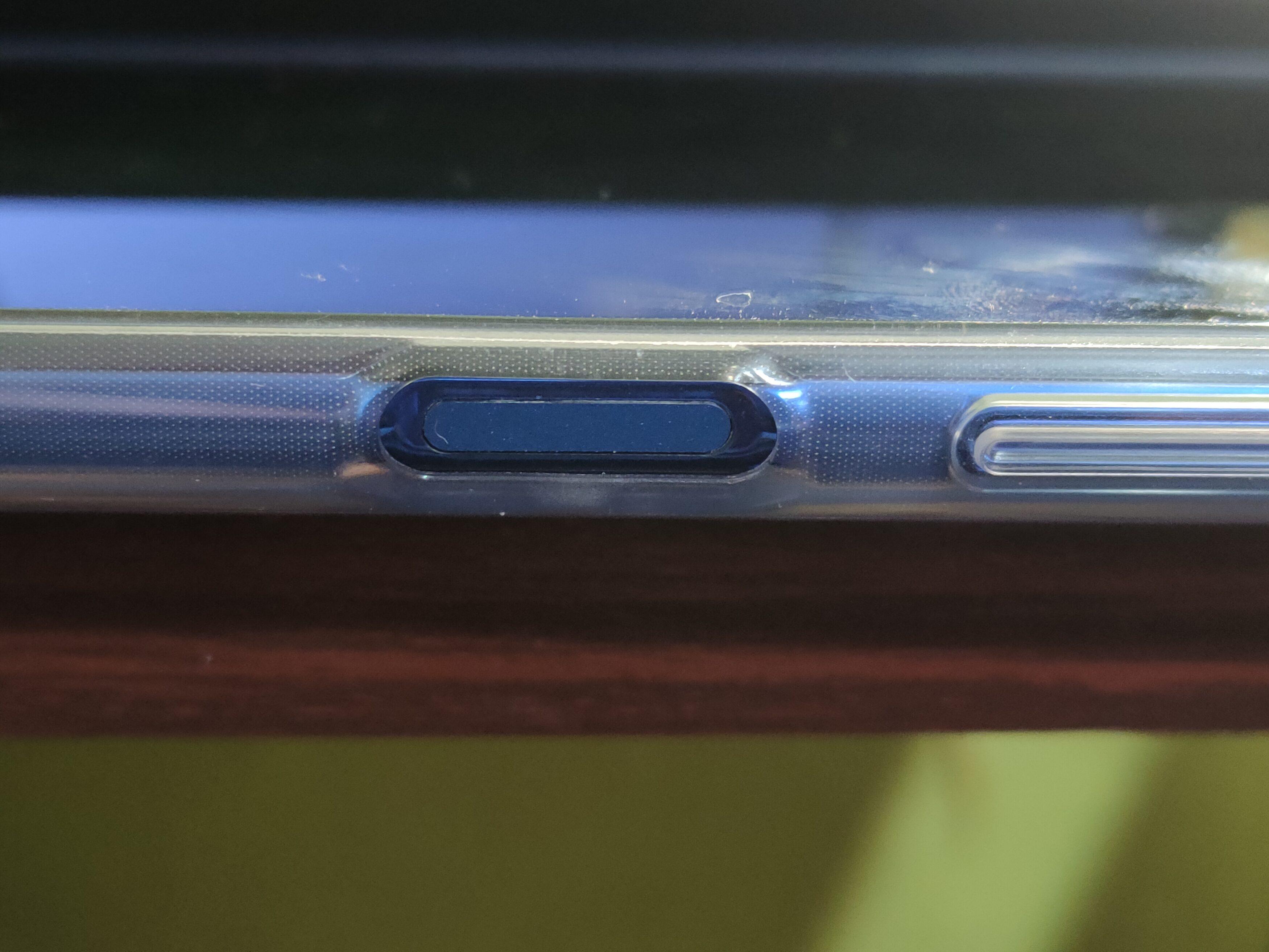 Poco X3 NFC - сканер отпечатков пальцев