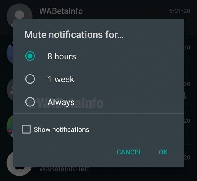 WhatsApp тестирует интересную опцию