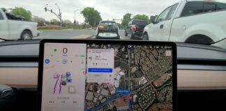 На видео показали работу абсолютного автопилота Tesla в беспрерывной получасовой поездке