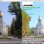 Снимок сделанный на Poco X3 NFC слева