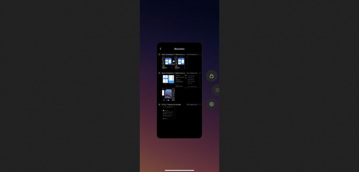 СМИ: MIUI Launcher от Xiaomi получит горизонтальный экран последних приложений