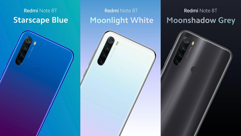Владельцы Xiaomi Redmi Note 8T дождались MIUI 12 вместе с Android 10