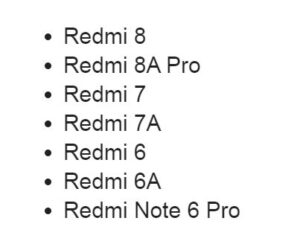 Xiaomi может не отправить MIUI 12 на семь бюджетников