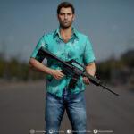 Энтузиаст представил образ Tommy Vercetti из GTA: Vice City в 3D-качестве