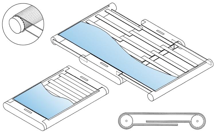 Патент Samsung 2019 года на разработку смарфтонов с уникальным механизмом увеличения рабочей области экрана