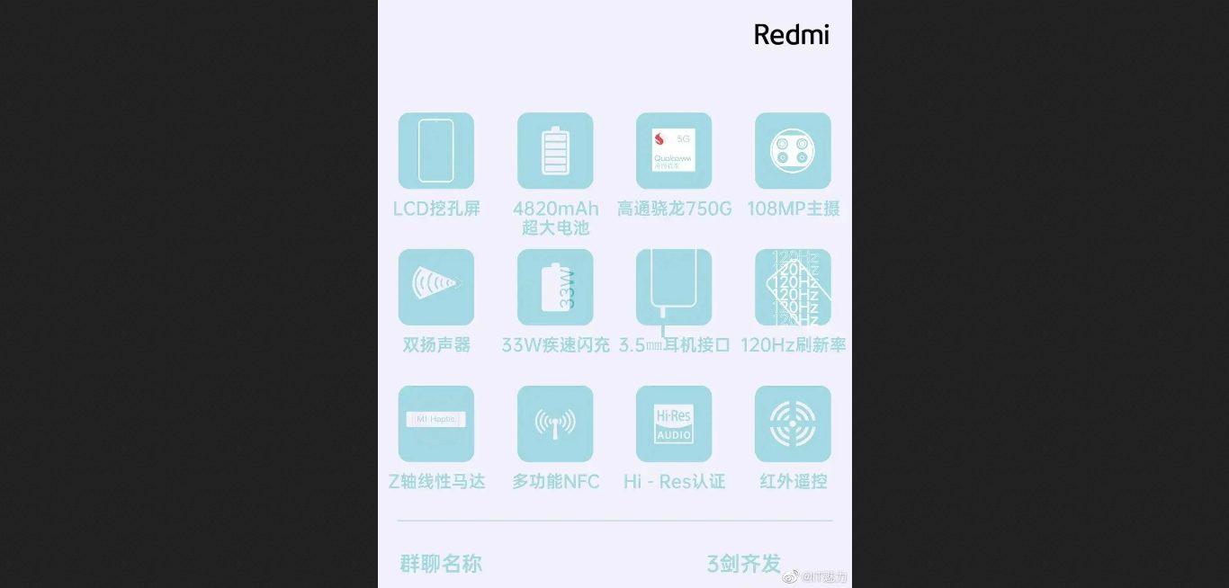 Gizmochina: все вопросы о Redmi Note 9 5G будут сняты через два дня