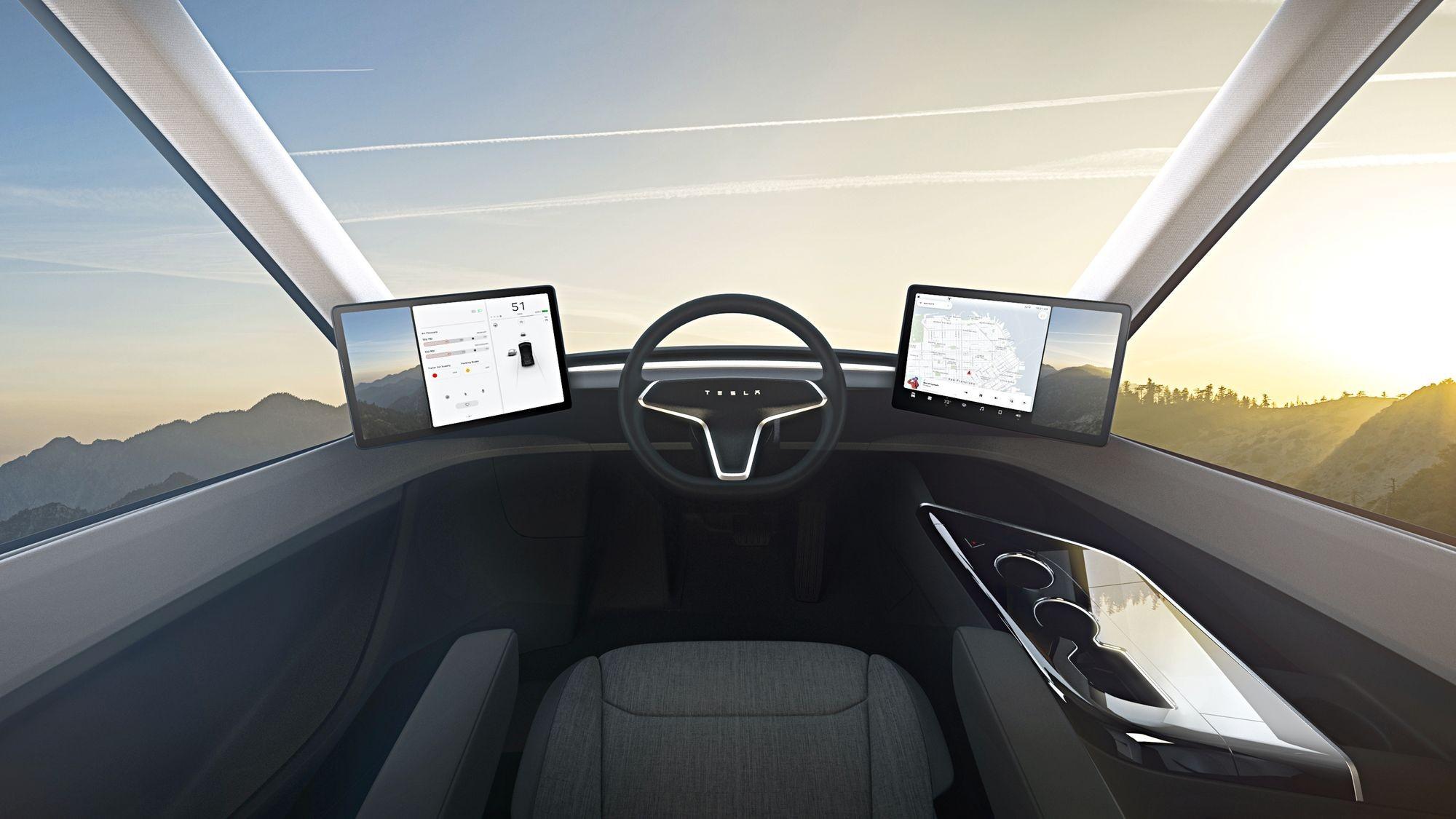 Tesla приготовила электротягач с рекордным запасом хода