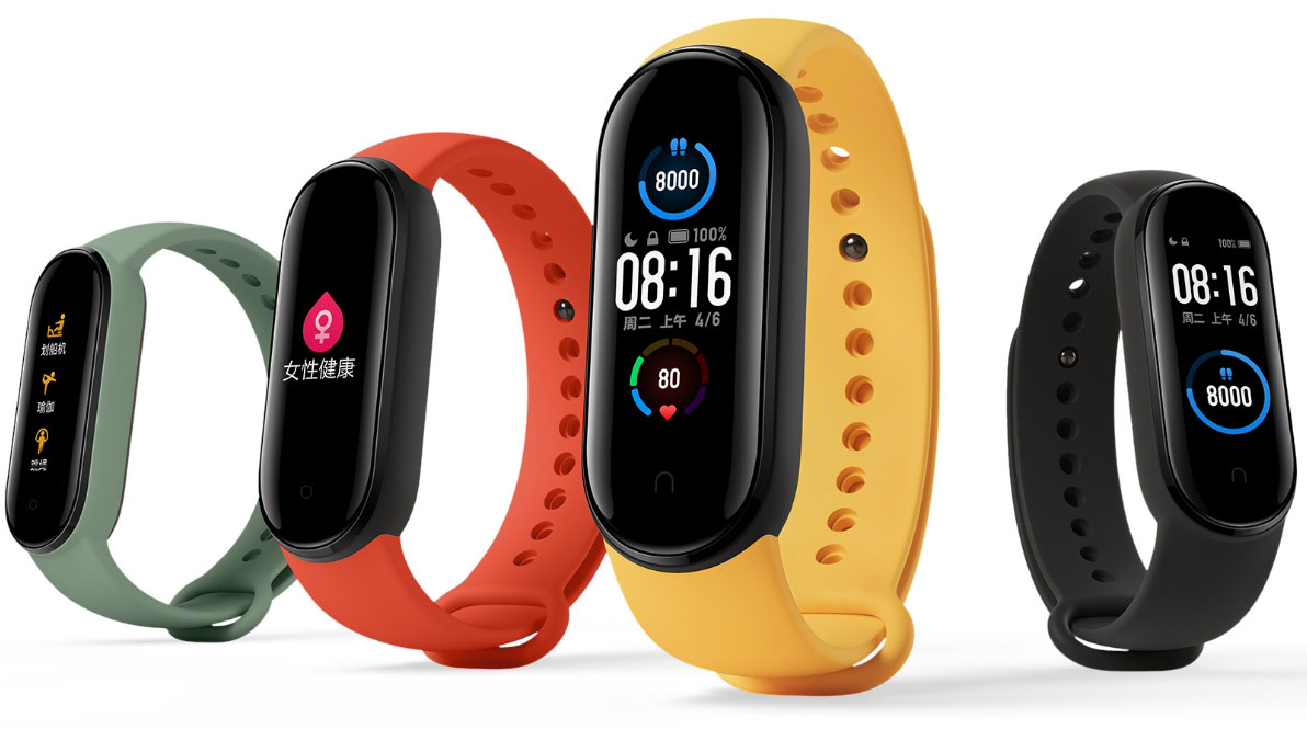Фитнес-браслет Mi Band 6 впечатлит фанатов новой возможностью - На изображении фитнес-браслет Xiaomi Mi Band 5