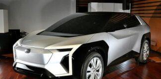 Концепт первого электрического внедорожника Subaru
