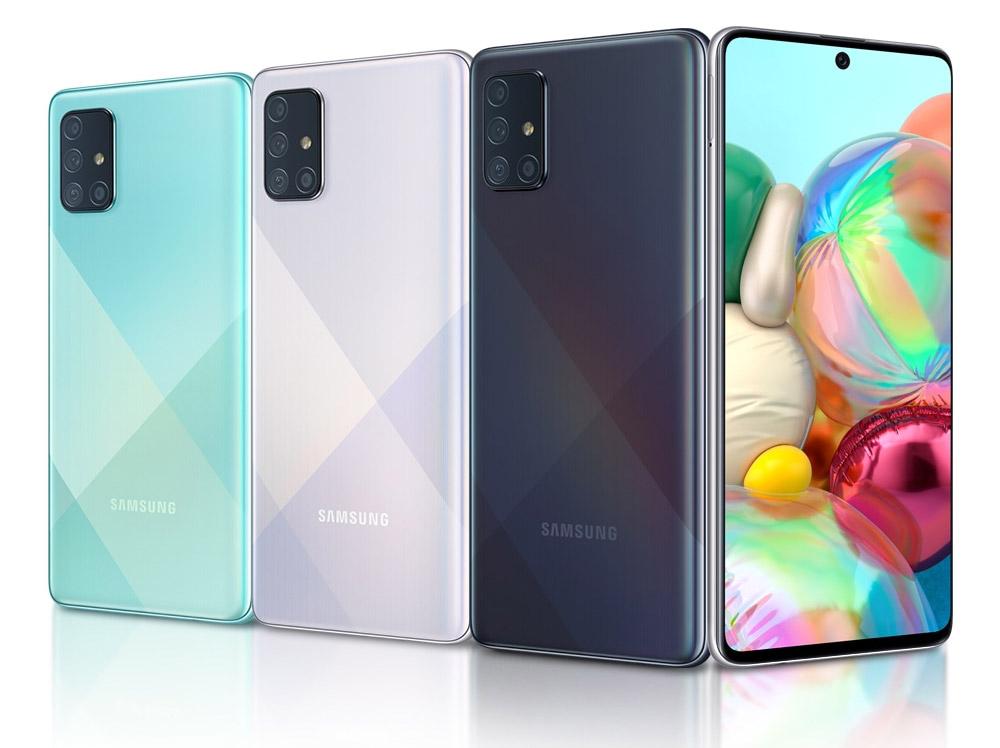 Восемь лучших смартфонов 2020 года бюджетного и среднего класса - Samsung Galaxy A71