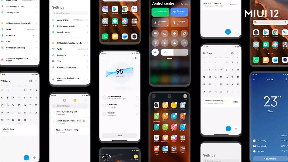 Xiaomi выпустит MIUI 12.5 в январе, а MIUI 13 оптимизирует под складные смартфоны