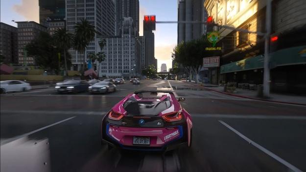 Геймер показал GTA 5 с новой графикой