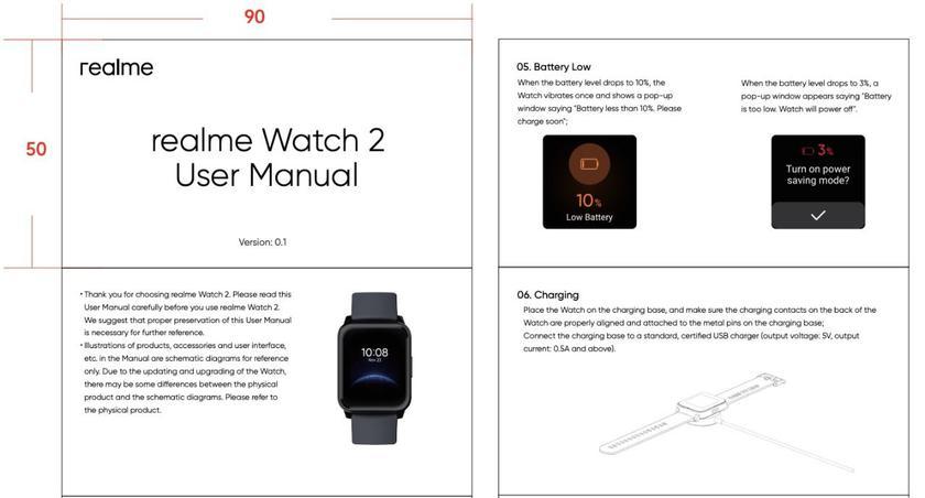 Характеристики Realme Watch 2