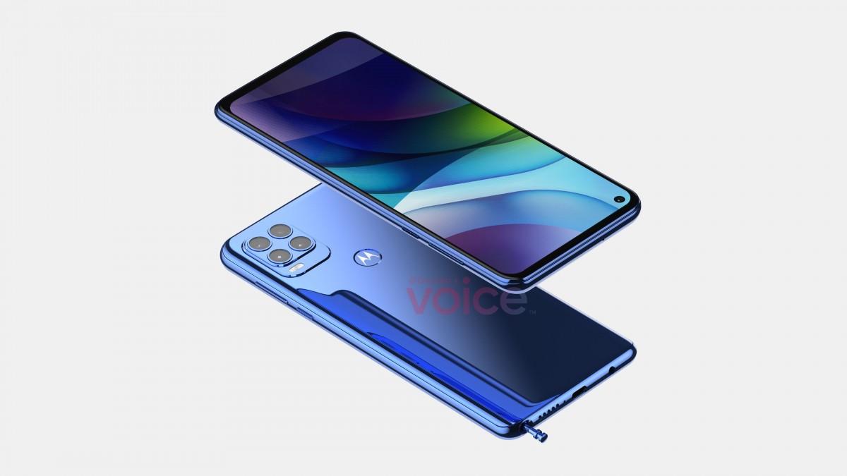 Motorola Moto G Stylus 2021 на новых рендерах выглядит по-иному