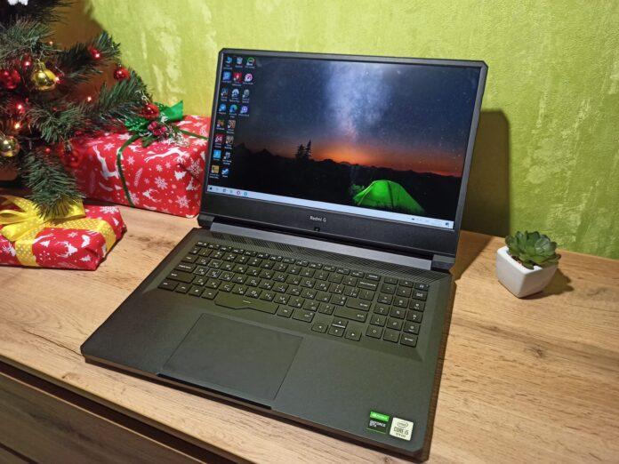 Представлен Redmi G 2021: производительный и бюджетный игровой ноутбук c RTX 3050