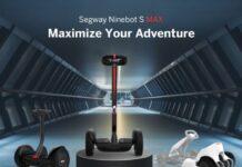 Партнер Xiaomi презентовал новейший гироскутер Ninebot S Max