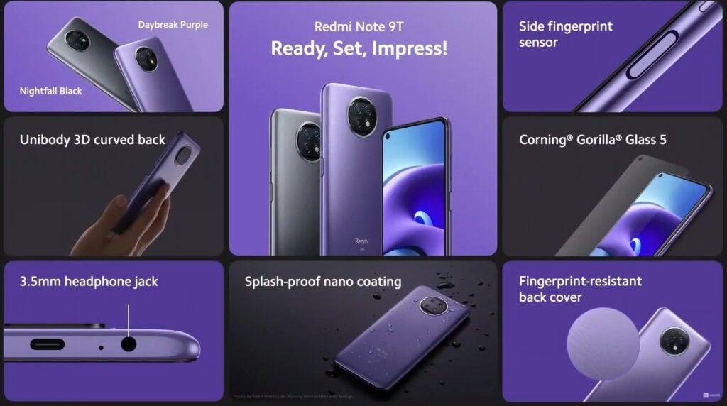 Redmi Note 9T официально дебютировал в Европе