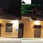 Снимок Redmi Note 9T справа