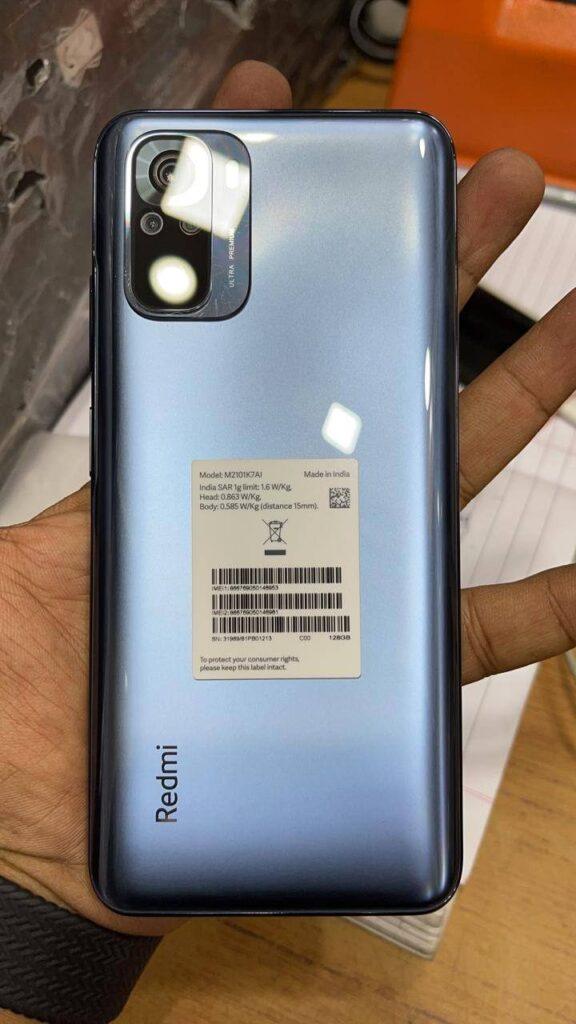 Первое фото Redmi Note 10