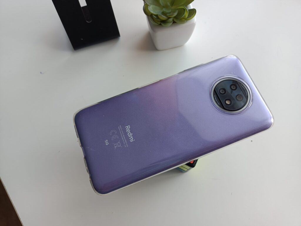 Redmi Note 9T в чехле