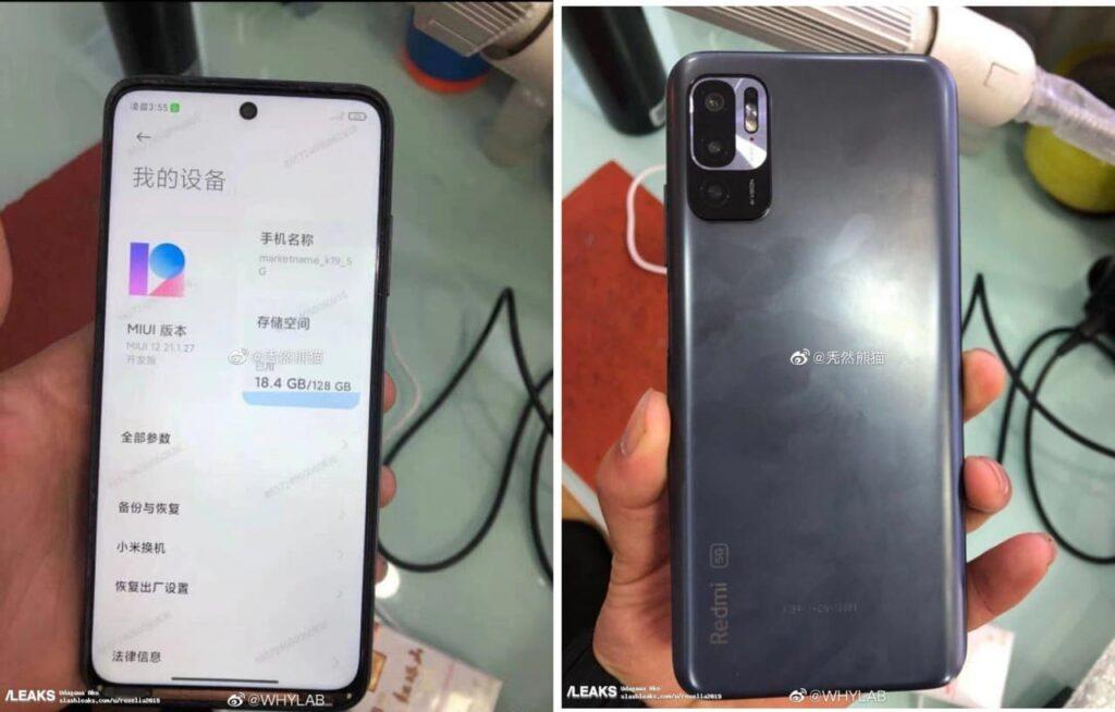 В Сети появилось первое фото Redmi Note 10 с включенным экраном