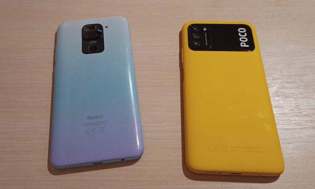 Сравнение Poco M3 и Redmi Note 9