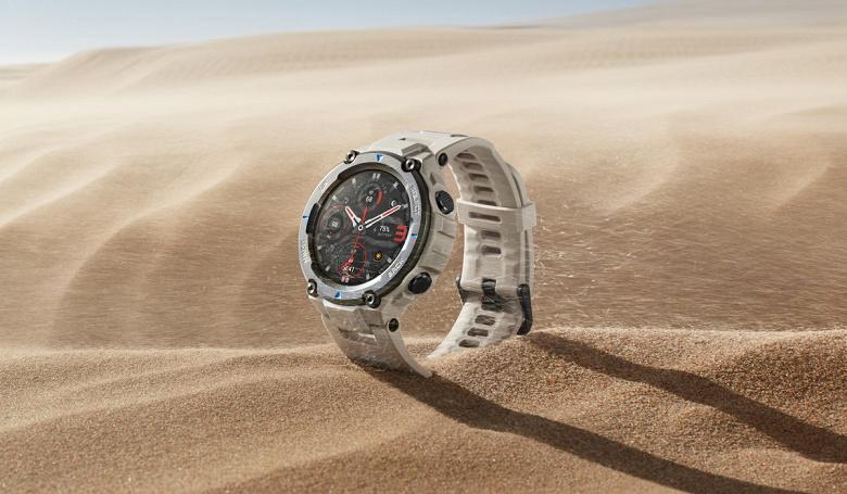 Huami официально представила новые смарт-часы Amazfit T-Rex Pro