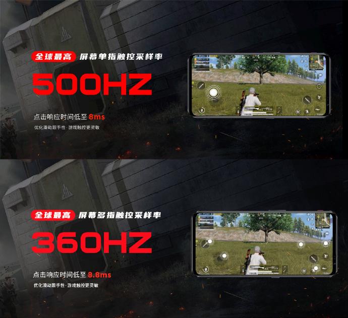 Nubia Red Magic 6 - характеристики дисплея
