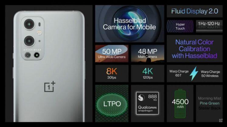 Анонсированы флагманы OnePlus 9 и OnePlus 9 Pro
