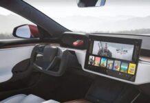 Новые электрокары Tesla вышли без переключателей передач