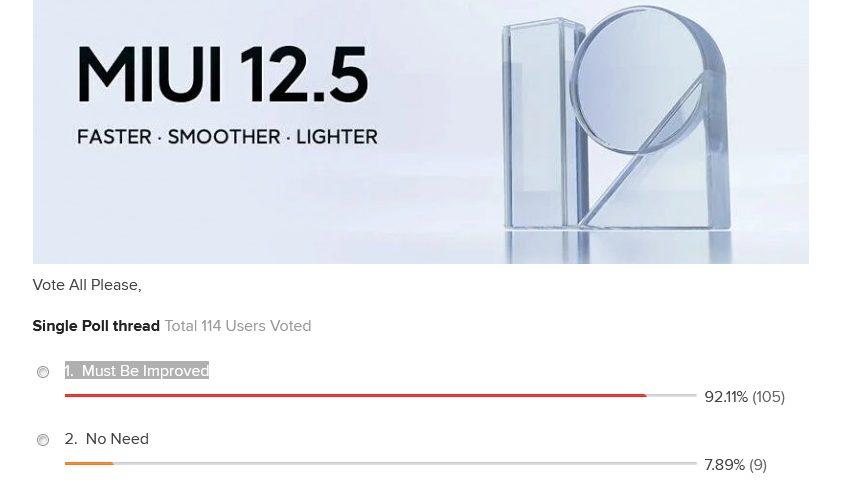 Владельцы смартфонов Xiaomi требуют от компании внести улучшения в MIUI 12.5