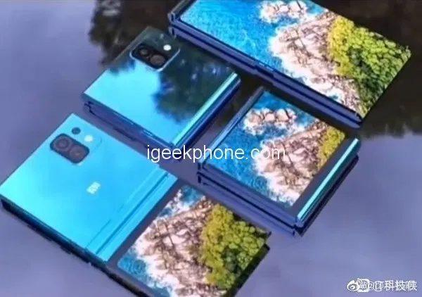Xiaomi показала концепт складного смартфона