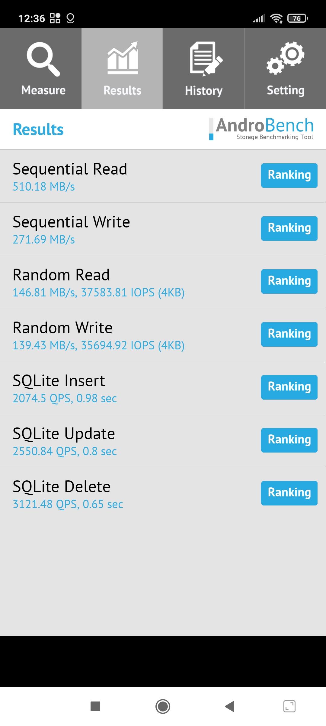 Тест накопителя Redmi Note 10 Pro