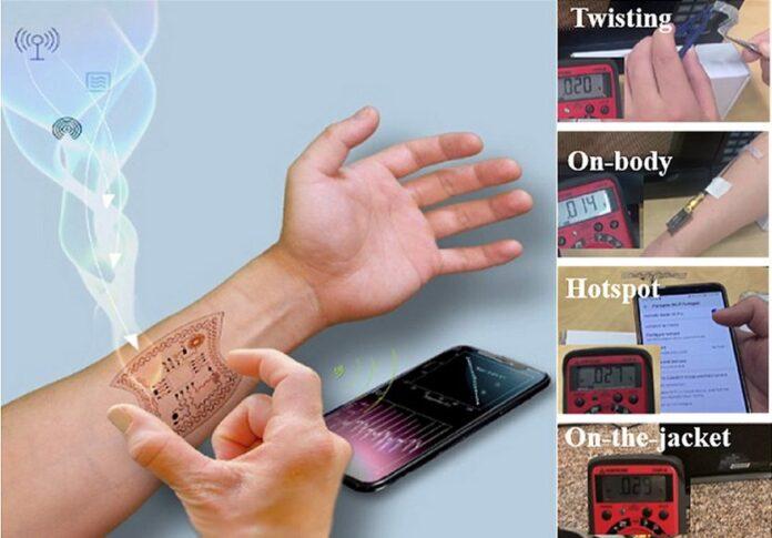 СМИ: энергию для смартфонов и остальных носимых устройств можно брать из воздуха