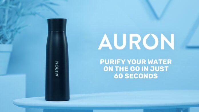 Создана умная бутылка, способна превращать любую воду в питьевую