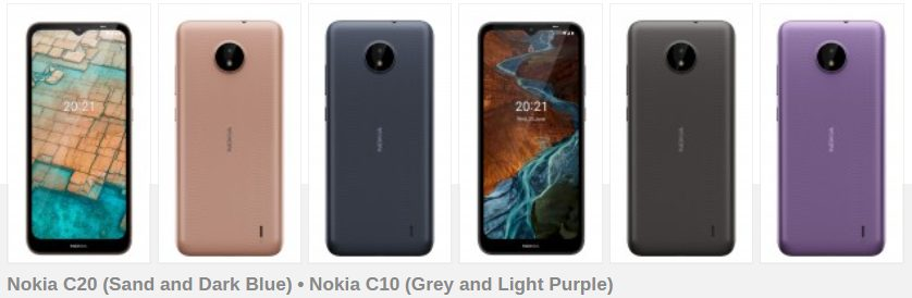 Nokia представила шесть дешёвых смартфонов на Android 11 по цене от 75 евро