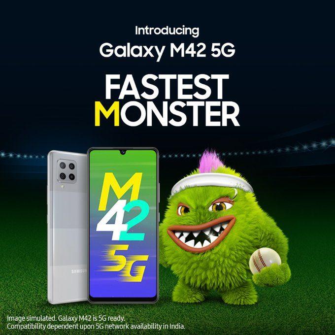 Представлен смартфон Samsung Galaxy M42