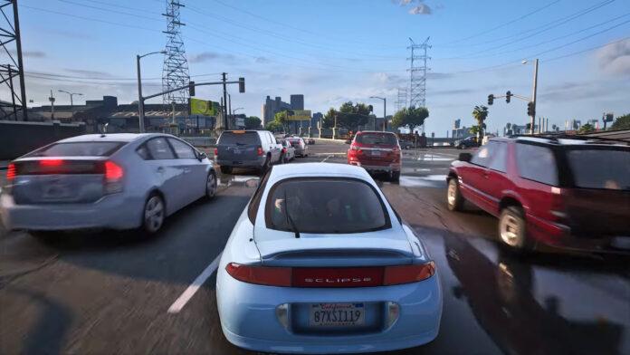 Моддер существенно улучшил графику в GTA V