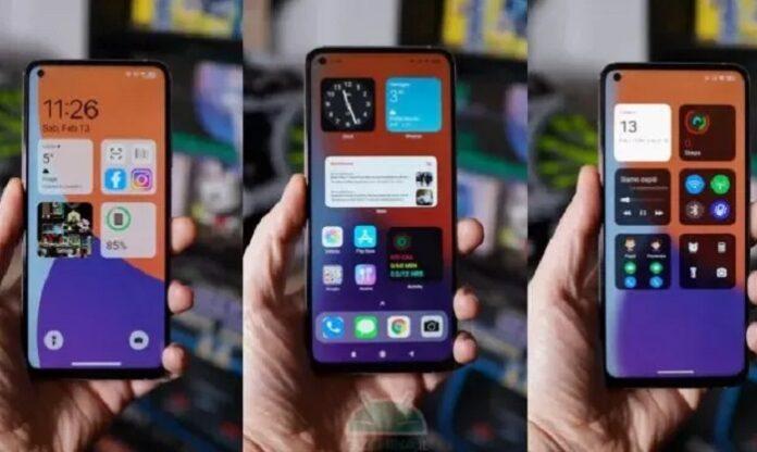 Тема iOS 14 превращает смартфоны Xiaomi в iPhone