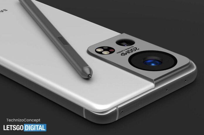 Появились качественные рендеры Samsung Galaxy S22 с уникальной камерой