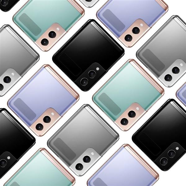 Рендеринг Samsung Galaxy Z Flip 2