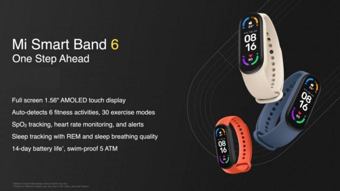 Трекер Mi Smart Band 6 получил первый апдейт сразу после презентации