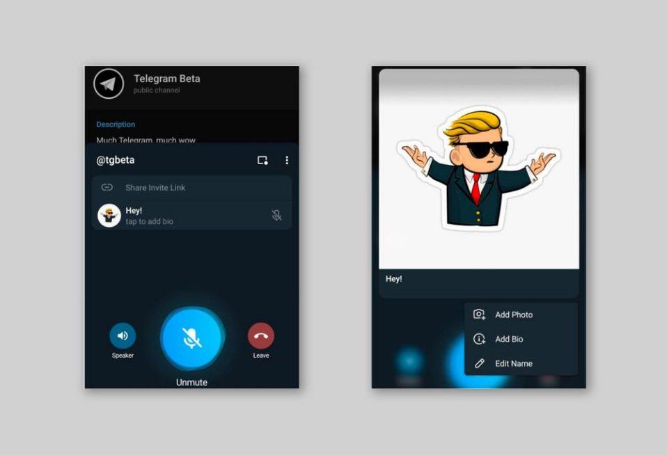 Telegram тестує нові опції в версії для Android