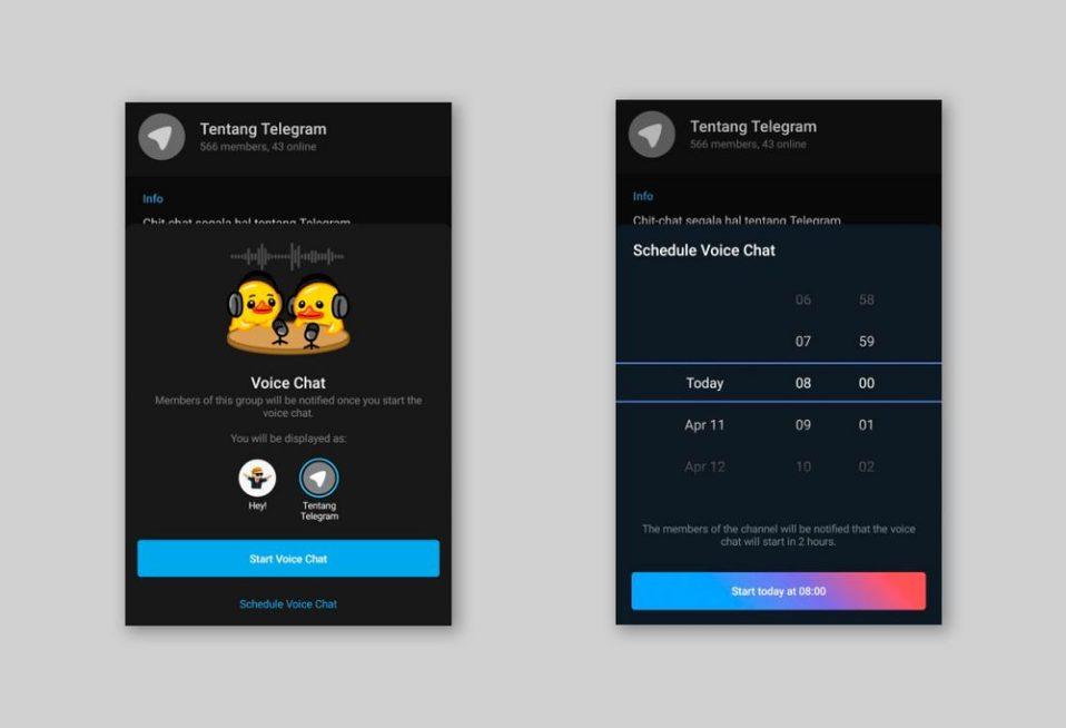 Telegram тестирует новые опции в версии для Android