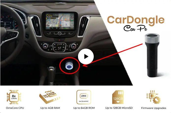 Миниатюрный ПК наделит автомобиль возможностями смартфона